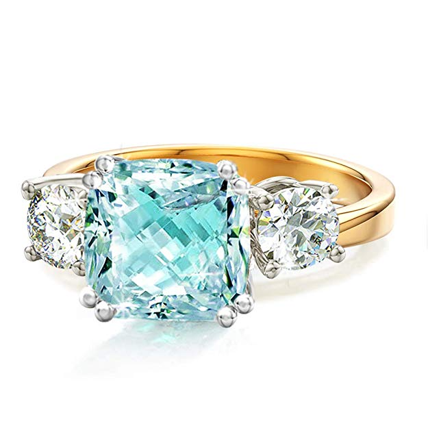 Gemstone wedding ring
