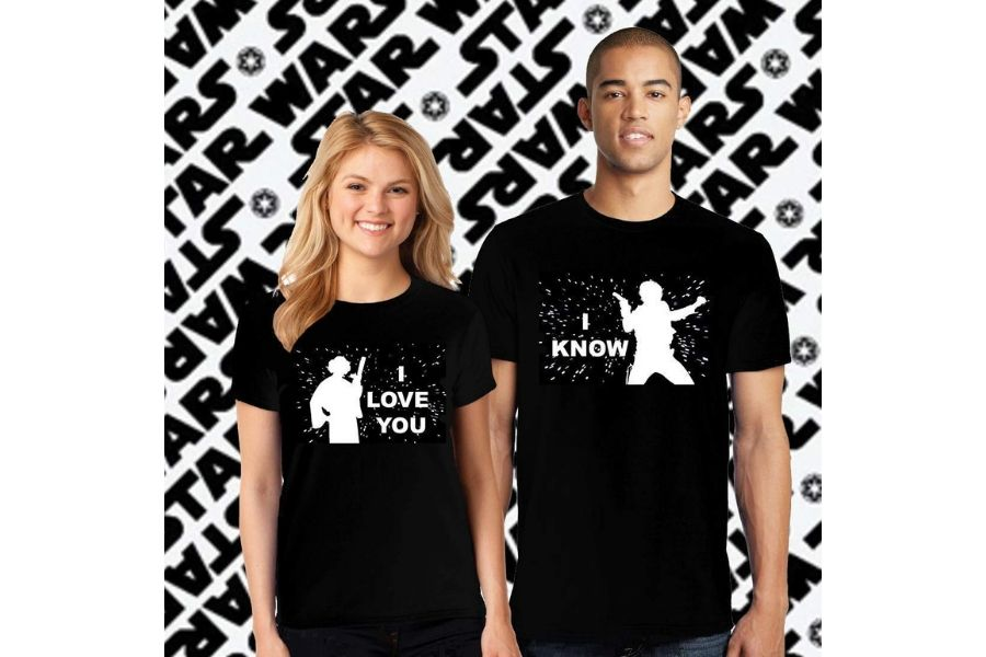 Couple Matching Shirts Gift