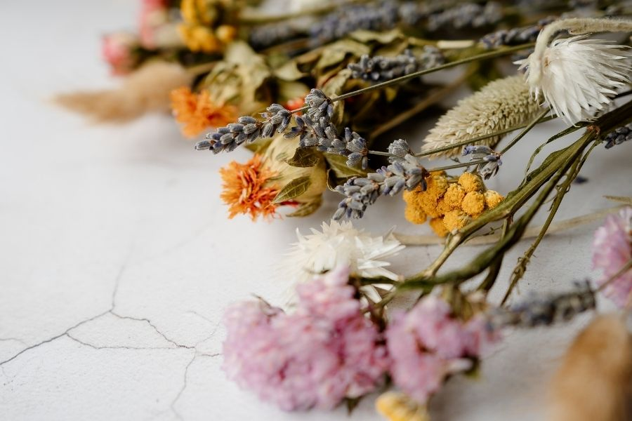 Preserving Dried Wedding Flowers to Enjoy for Years to Come