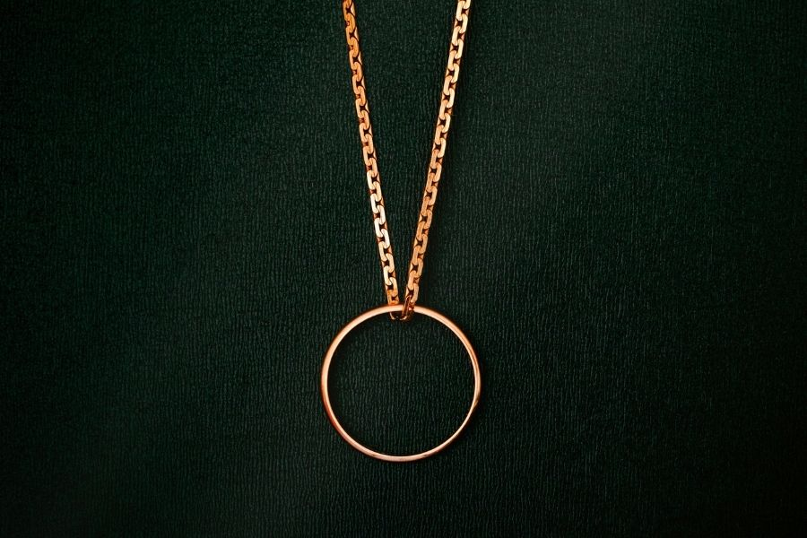 What Does Wearing a Wedding Ring on a Chain Mean?